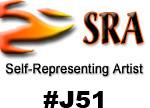 I am a self representing artist (SRA #J51)